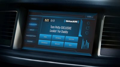 Sirius radio display