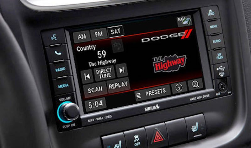 Dodge satellite radio